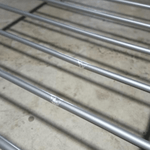 MARTIN Metal Bed Frame in GREY