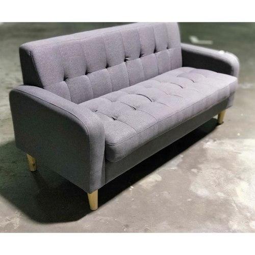 FERNARDO MINI 3 Seater Sofa in GREY FABRIC