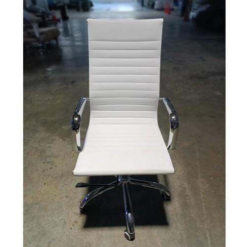 RAYS VEXTER White Designer Replica High Back Office Chair in WHITE