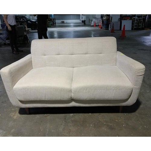 TEFALA 2 Seater Sofa in Beige Fabric