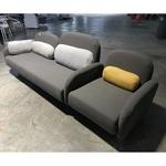 BYUNJIN 3+1 Seater Sofa in DARK GREY