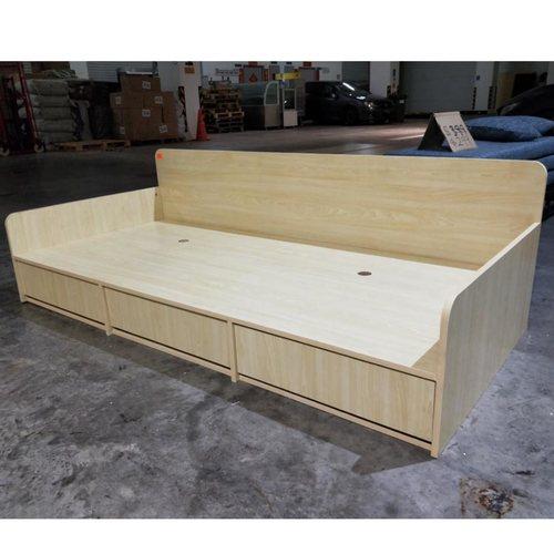 YOKI Single Scandi Storage Bed