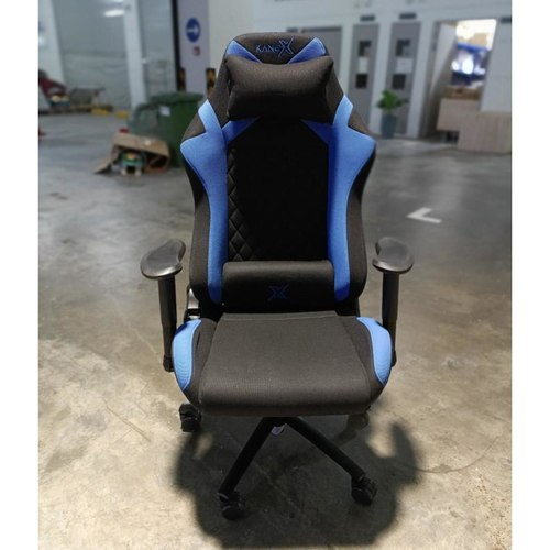 KX HERMES Professional Gaming Chair in BLACK & BLUE