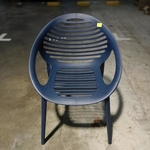 VENTZ Armchair in BLUE