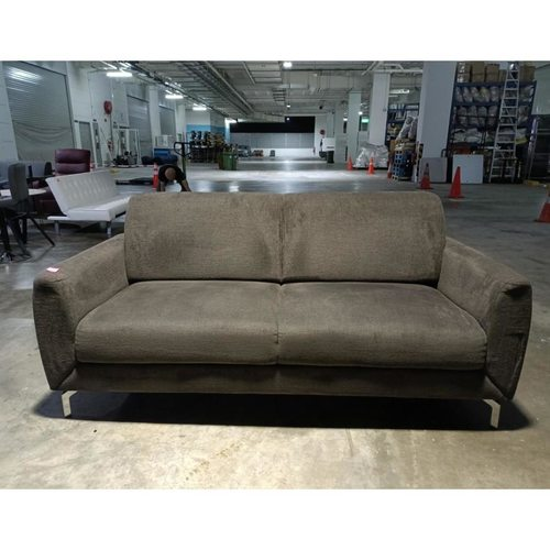 MINOTAURA 3 Seater Sofa in CHEWY BROWN Fabric