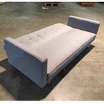 HANNA II Sofa Bed in STONE GREY FABRIC