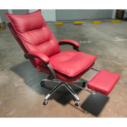 PEDROSA Executive Office Chair in MAROON PU Con