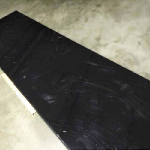 MANSELL Modern Hallway Console in BLACK GLOSS
