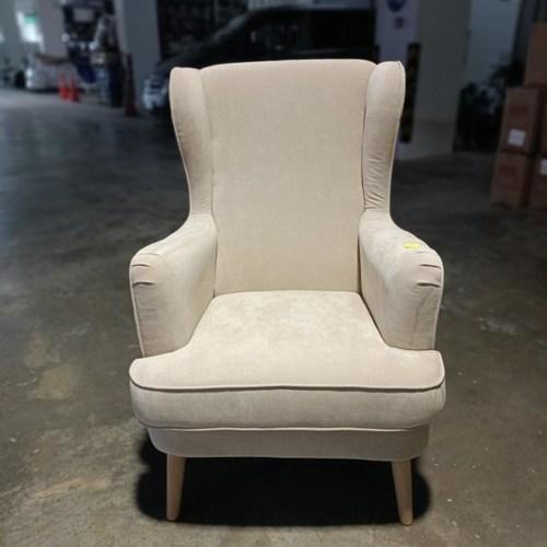 HENDRI Arm Chair in BEIGE