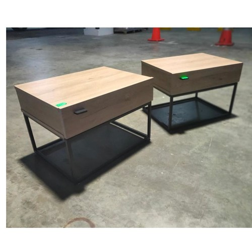 PAIR of KRONICAL SCANDI Bedside Tables