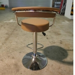 STRADER Bar Stool in Brown