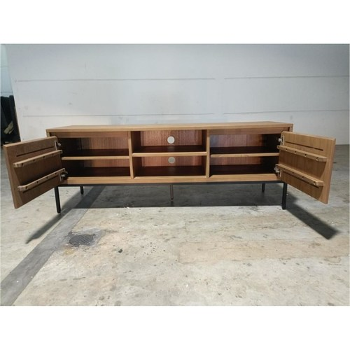 MCQUEEN Solid Wood TV Console