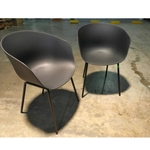 PAIR of GYRO Chairs in BLACK