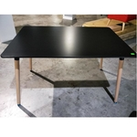 VIENNA Dining Table in BLACK (M)
