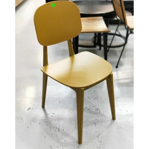 JERLIA Dining Chair in MUSTARD Yellow