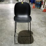 VOLKZ Bar Chair in BLACK