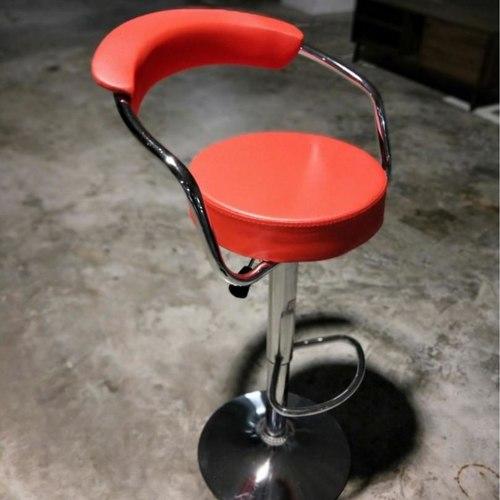 STRADER Bar Stool in RED