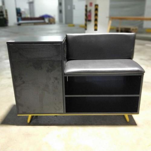 MORGAN Modern Shoe Cabinet Bench
