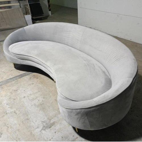 MONDRAKE 4 Seater Sofa in GREY VELVET
