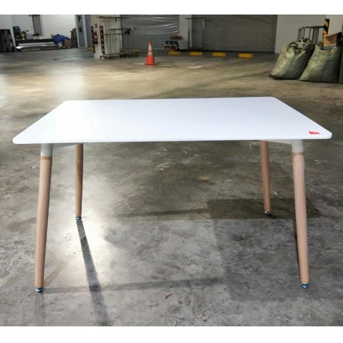 VIENNA Dining Table Reg in WHITE