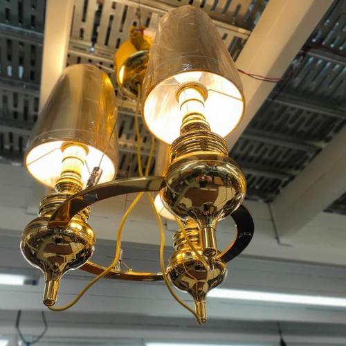 MANSORE GOLD M3 Chandelier Lamp MD20091-3