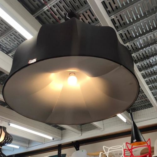 MANCHURA BLACK M Hanging Ceiling Lamp MD50062-1-800
