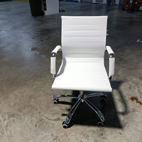 RAYS VEXTER WHITE Lowback Office Chair