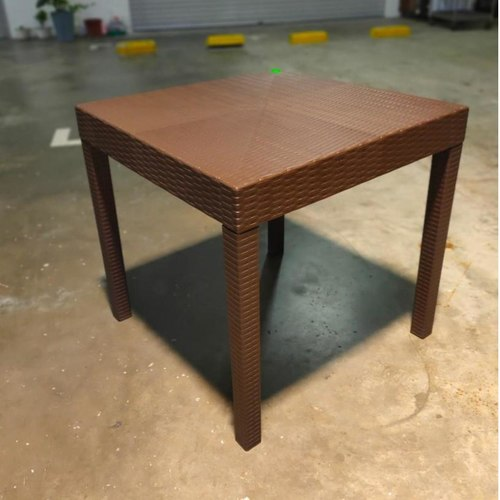 LORRAINE REG Outdoor Dining Table in BROWN