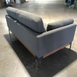 HAWKE 2 Seater Sofa in Left Facing Armrest with STONE GREY FABRIC