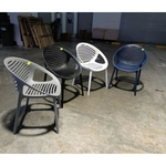 4 x VENTZ Amrchairs in ASSORTED COLORS