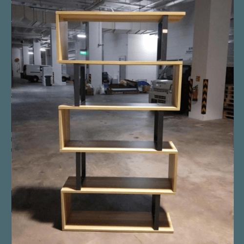 DENVAL INDUSTRI Series 5 Tier Display Shelf
