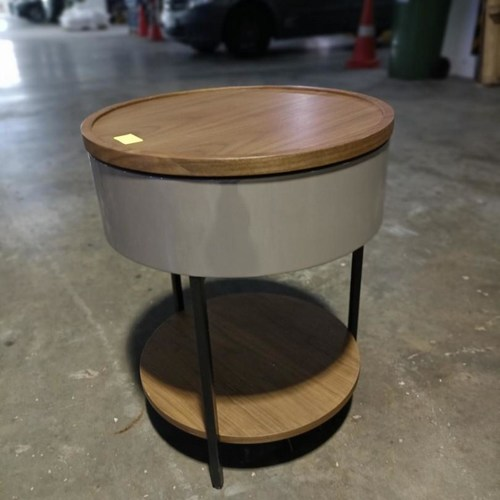 TEKKEN Round Storage Side Table