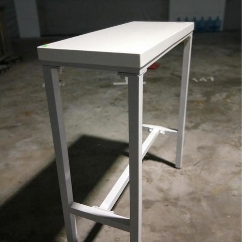 REXIN Modern Minimalist Bar Table in WHITE