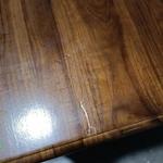 JORROM 3 Drawer Teakwood Side Table