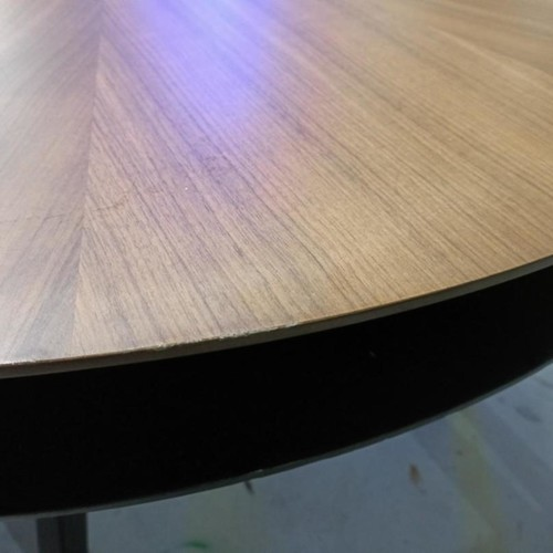 BASIX Double Layer Round Dining Table