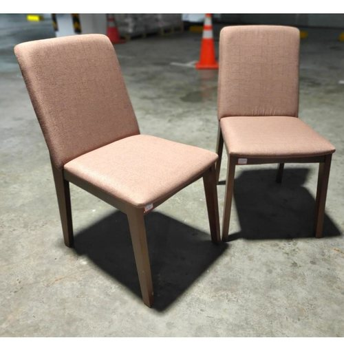 PAIR of BORVEN Vintage Solid Wood Dining Chairs