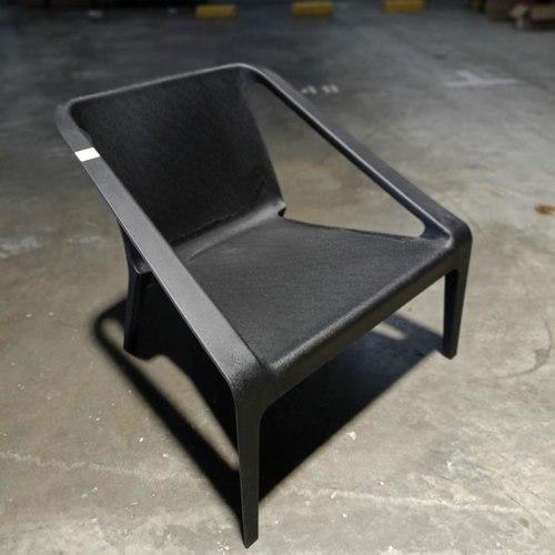 KEISA Outdoor Armchair in BLACK