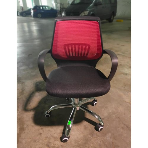 BERVA Office Chair with Red Mesh