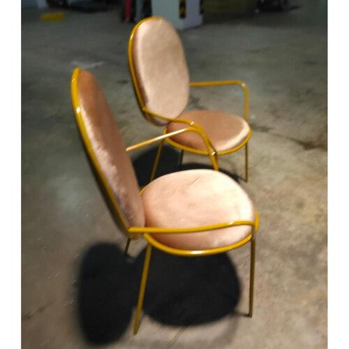 PAIR of MARUKI Armchairs in VELVET BROWN