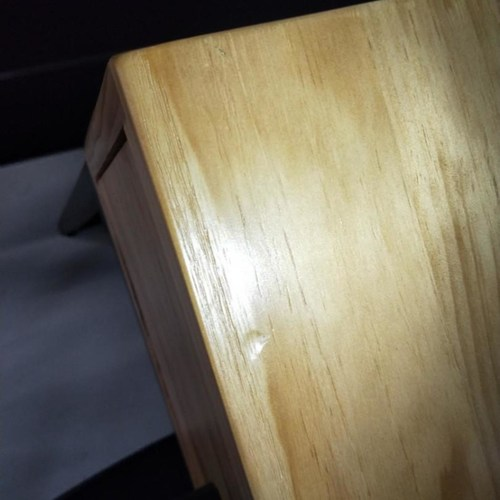 MIKANA II INDUSTRI Series Solid Wood Study Table 120 x 50