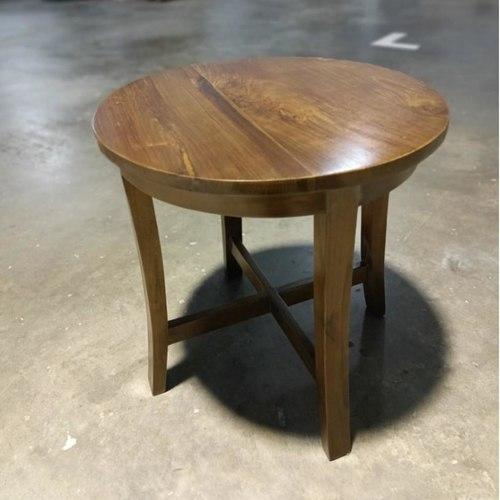 JORROM Teakwood Side Table