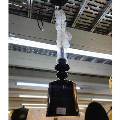 RENZO BLACK Ceiling Hanging Lamp MD20091-1-180