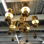 LUXUS GOLD S5 Chandelier Lamp MD50190-5-140