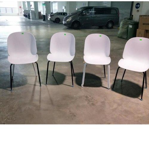 IZZY Designer Replica Chairs in WHITE