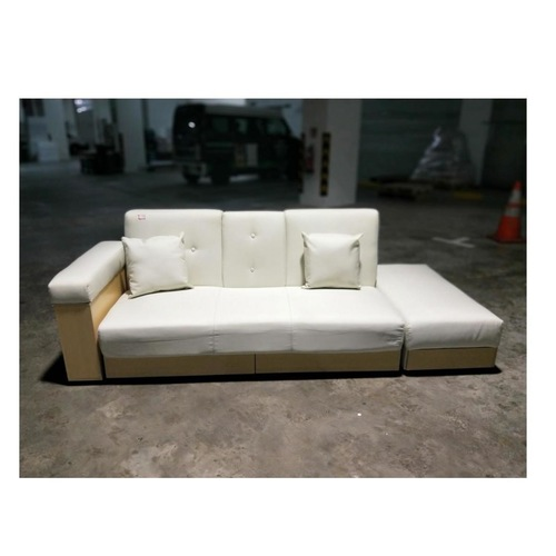 MIKO Storage Sofa Bed in BEIGE Fabric
