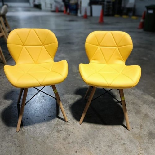 One pair of KYOCHI Replica Designer Chair in YELLOW