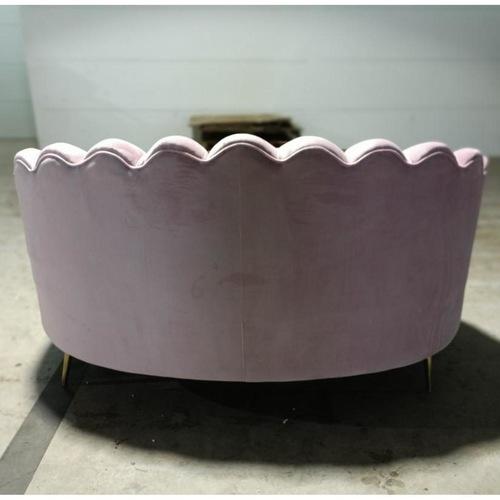 DELPHI 2 Seater Sofa in PINK VELVET