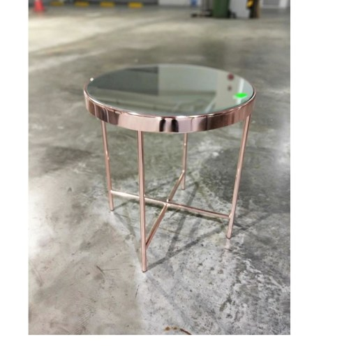 PANINI Rose Gold Side Table