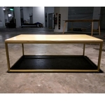 MENTAM Minimalist Solid Wood Coffee Table