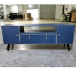 VALKENY Modern TV Console in ROYAL BLUE